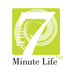The seven minute life logo