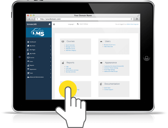 ScholarLMS - LMS learning management system easy