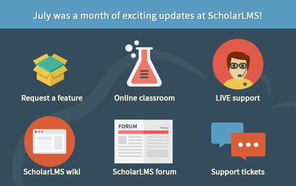 SLMS july month updates