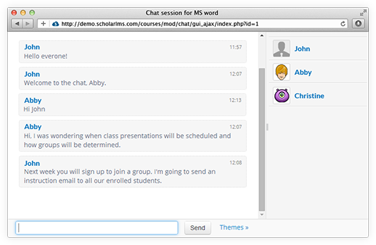 SLMS-chat