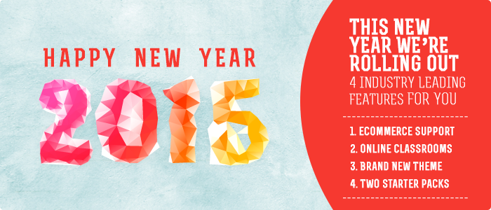 ScholarLMS new year 2015 banner