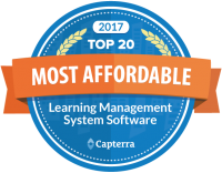 Capterra Most Affordable LMS ScholarLMS